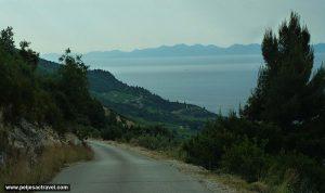 Road to Gornji and Donji Dingač