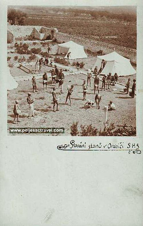 camping-orebic1930s