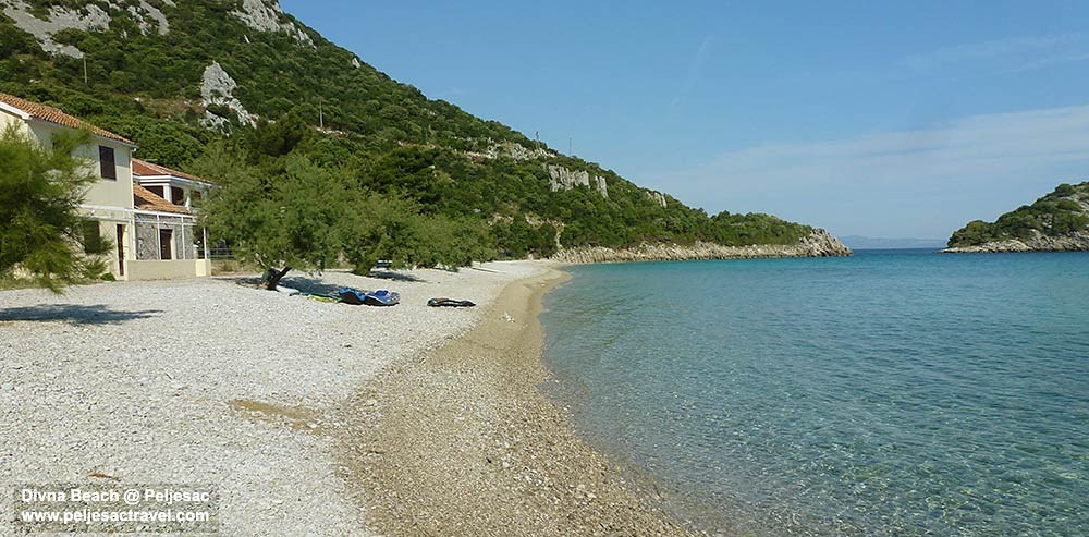 Divna Beach at Peljesac