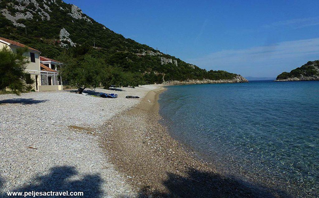 Divna beach on Peljesac