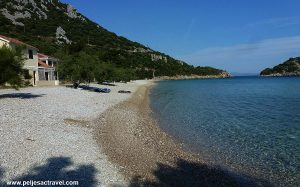 Divna beach on Peljesac
