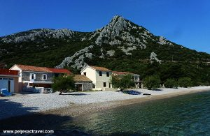 Divna village on Peljesac