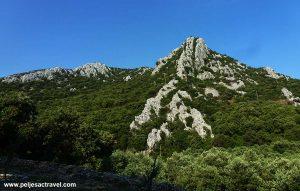 Landscape above Divna Bay, Peljesac