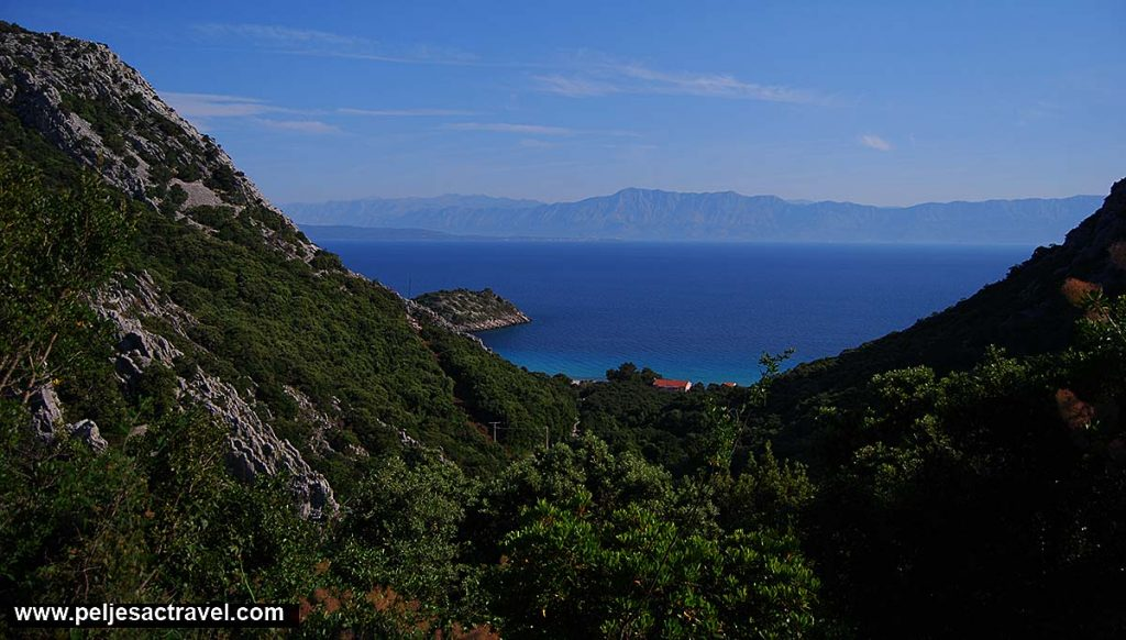Views over Divna Bay, Peljesac