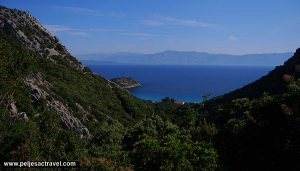 Views over Divna Bay, Peljesac