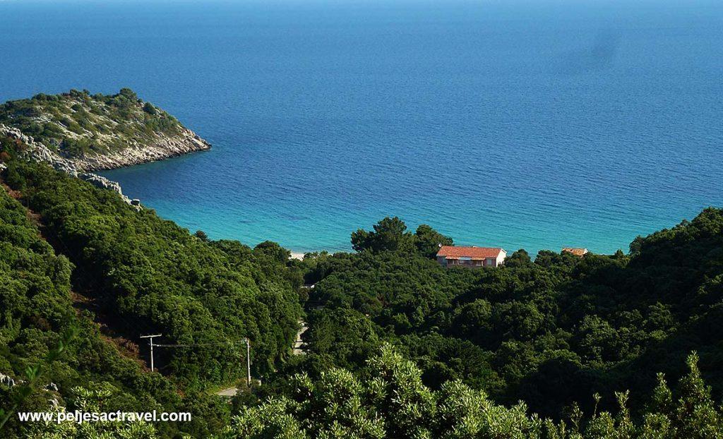 Panorama of Divna Peljesac
