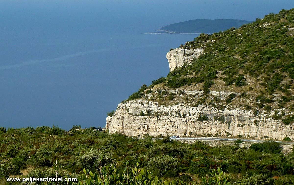 Cliffs of Kapetani, Peljesac
