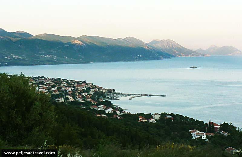 Views over Orebic