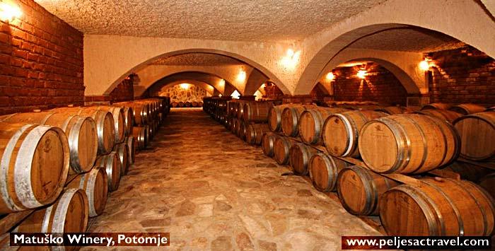 Matuško winery in Potomje