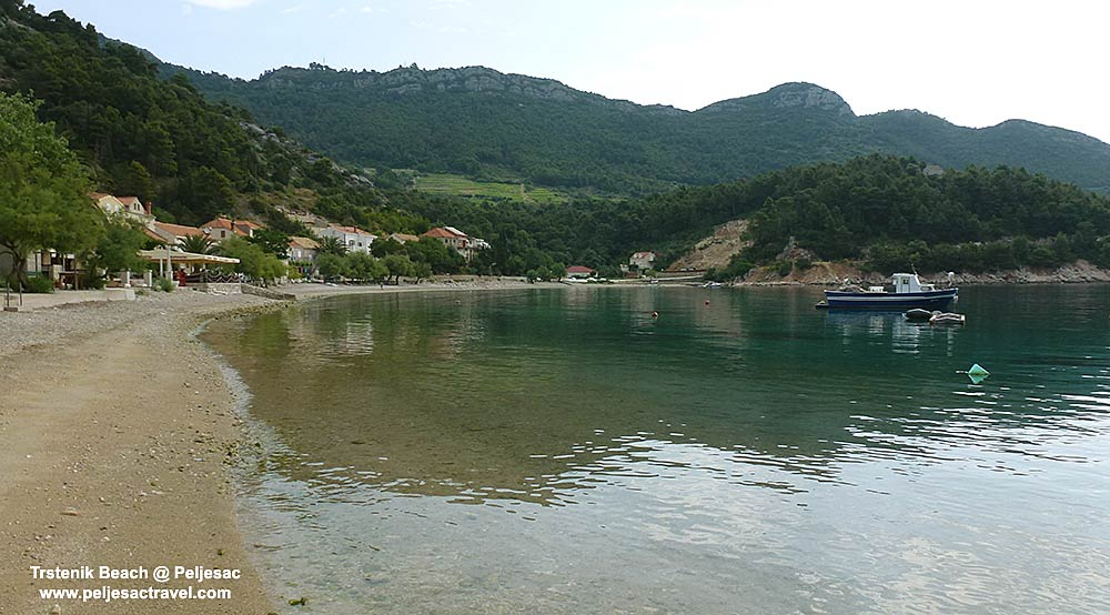 Trstenik Beach at Peljesac