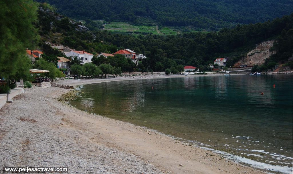 Trstenik Bay and its Sandy Beach