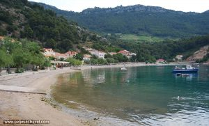 Sandy beach in Trstenik - Peljesac Peninsula