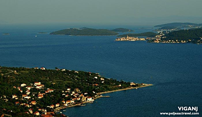 panorama of viganj