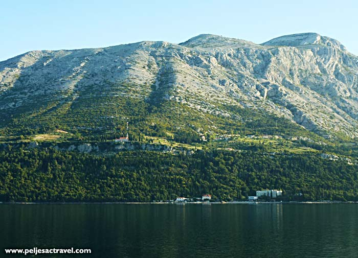 Walking / hiking area of Peljesac