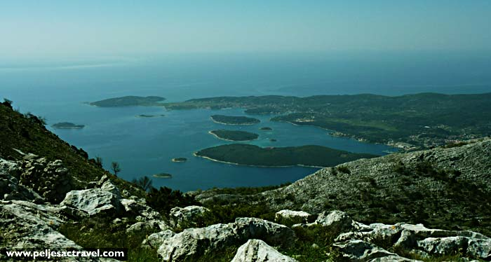 rewarding views over the channel - Peljesac