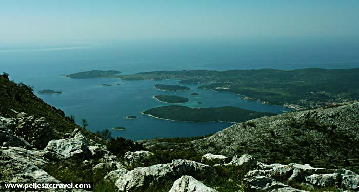 rewarding views over the channel - Peljesac