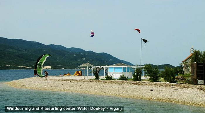 Windsurfing and Kitesurfing center 'Water Donkey' - Viganj